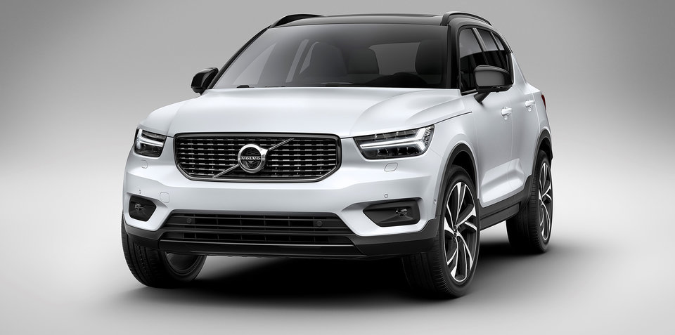 volvo xc40. 2018 volvo xc40 pricing and specs - update xc40 r