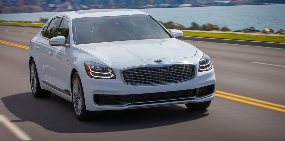 2019 Kia K900 has been given the 'Biermann Effect'