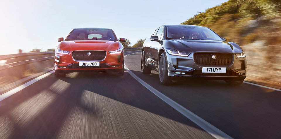 Jaguar I-Pace v Tesla Model X drag race – VIDEO