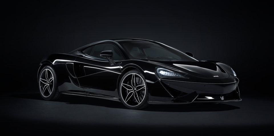 McLaren 570GT 'MSO Black Collection' unveiled
