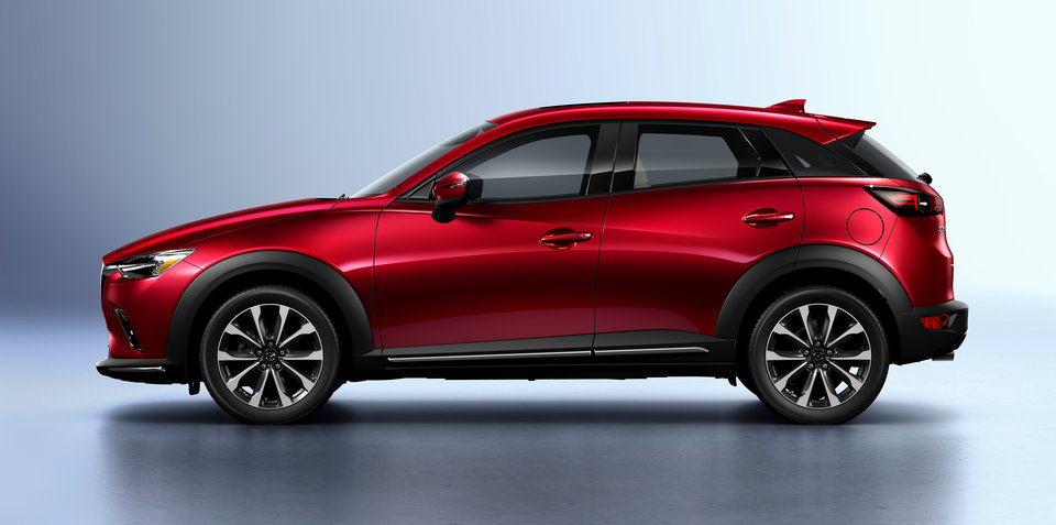 2019 Mazda CX-3 revealed, in part