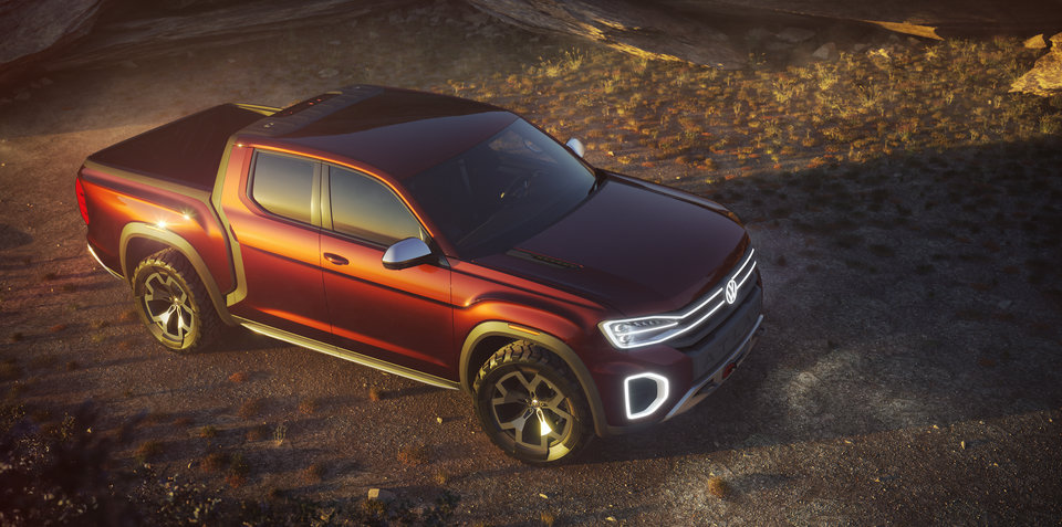 Volkswagen Atlas Tanoak revealed in New York