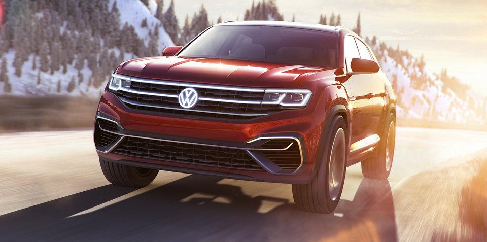 Volkswagen Atlas Cross Sport concept revealed