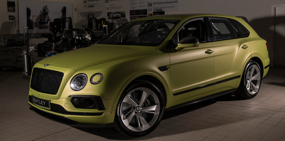Bentley prepares to tackle Pikes Peak in modified Bentayga