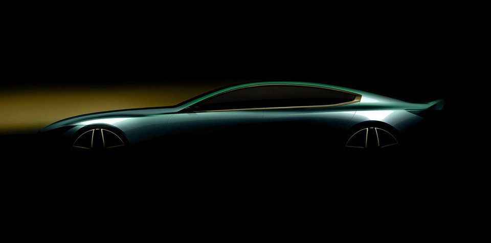 BMW teases 8 Series Gran Coupe