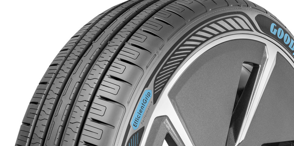 Goodyear reveals prototype EV tyres