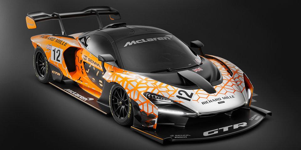 McLaren Senna GTR Concept revealed
