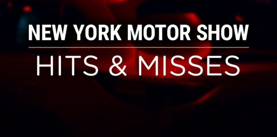 2018 New York motor show: Hits and misses