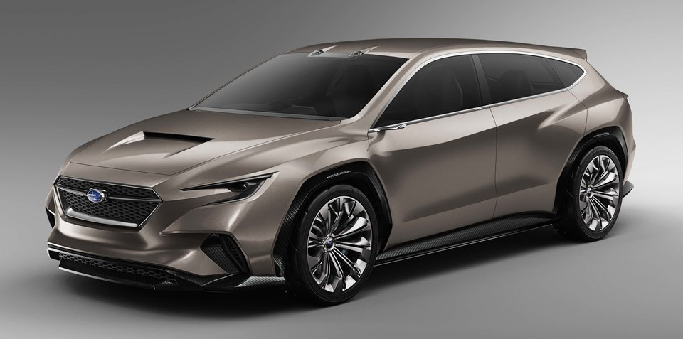 Subaru Viziv Tourer Concept revealed