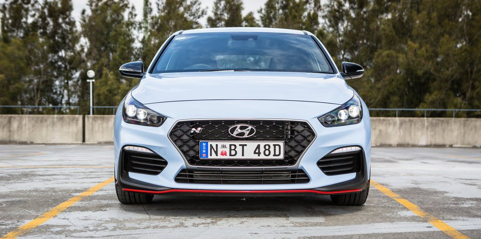 Hyundai's i30 N is a proper hot hatch, and a Golf GTI beater
