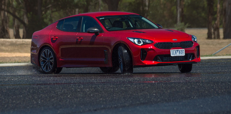 Kia Stinger GT a sellout success in Australia, police interest a huge help