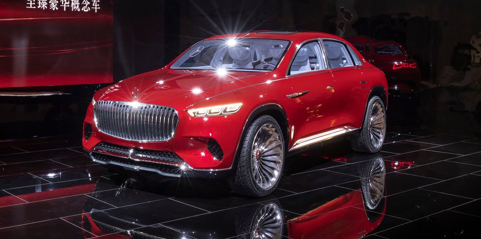 Mercedes-Maybach Vision Ultimate Luxury officially unveiled
