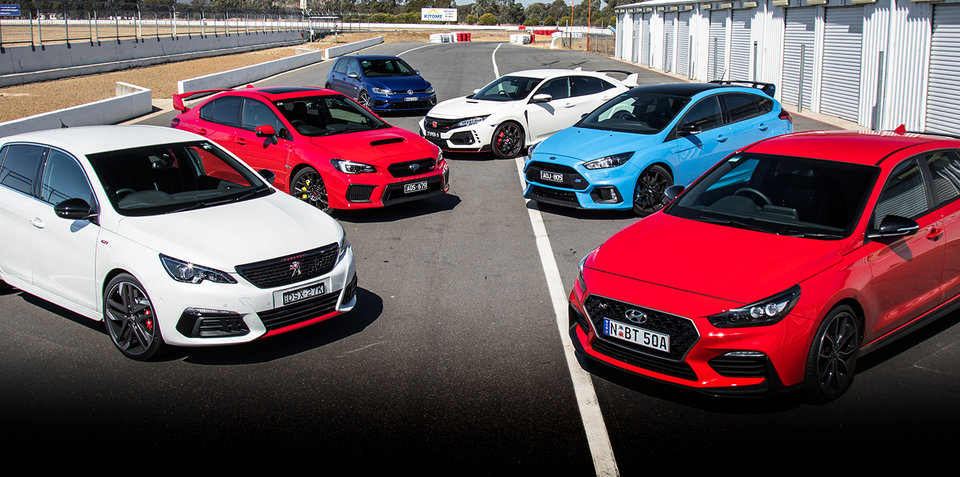 2018 Hot Hatch Mega Test