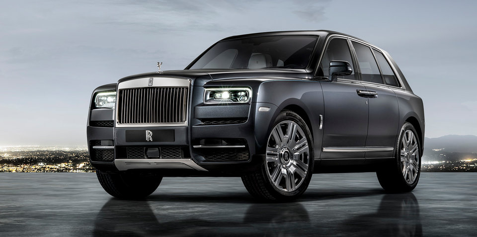 2019 Rolls-Royce Cullinan revealed - UPDATE