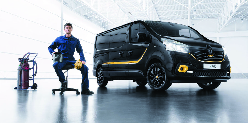 2018 Renault Trafic Formula Edition returns from $41,990