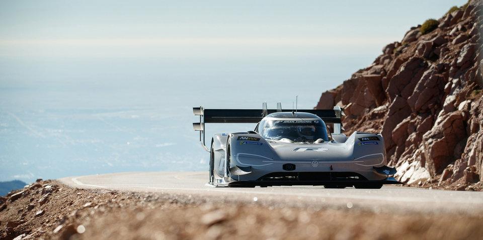 Volkswagen I.D. R sets new Pikes Peak record