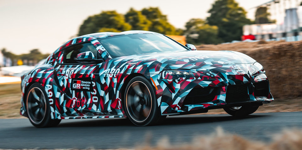 Toyota Supra: More power and more engines on the cards