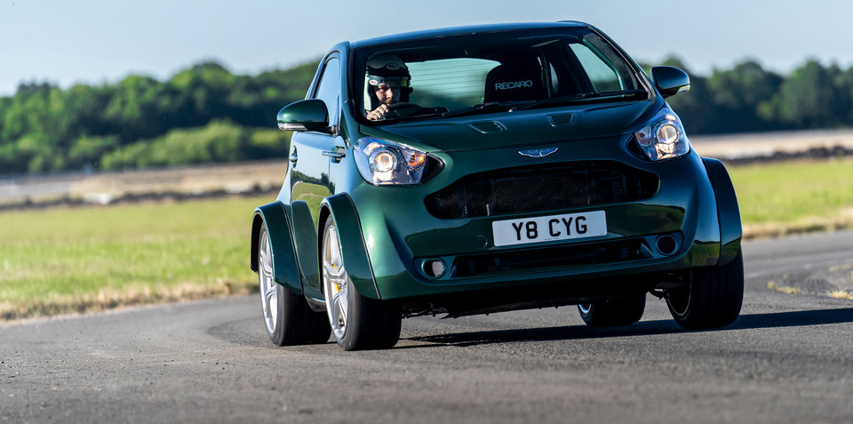 Aston Martin Cygnet V8 revealed