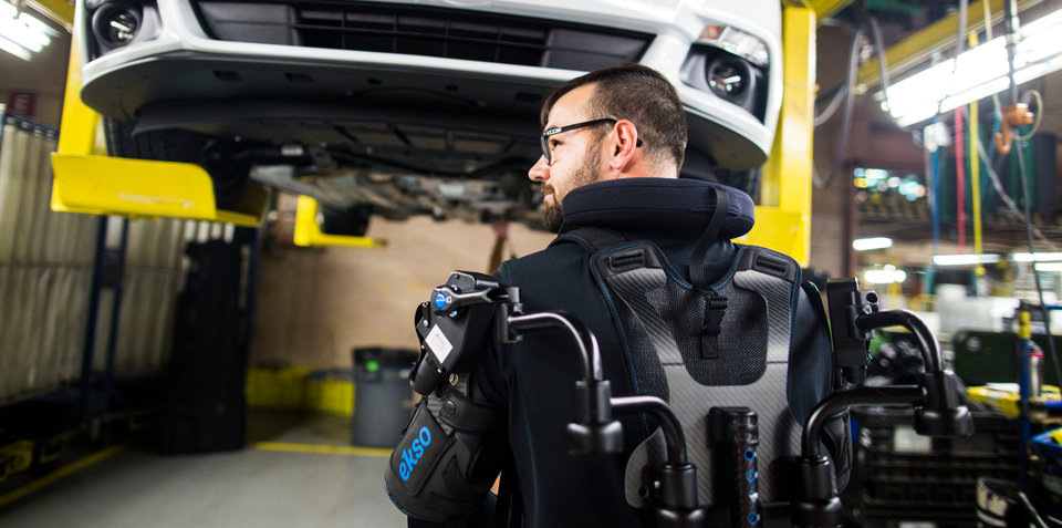 Ford expands trial of exoskeleton vest for factory workers