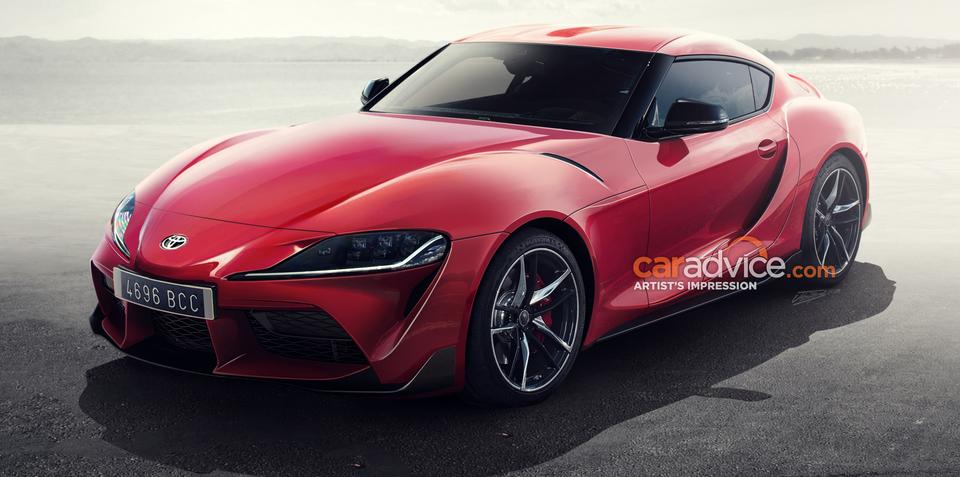 2019 Toyota Supra to debut at Detroit motor show