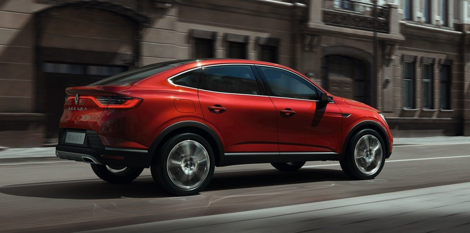 Renault Arkana sporty crossover on Australian wishlist
