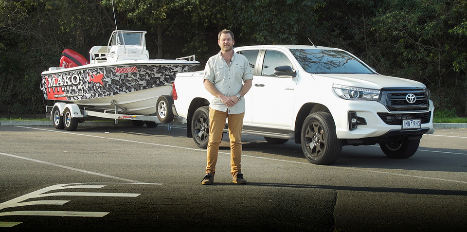 Toyota HiLux Rogue tow test: Lifestyle-ready