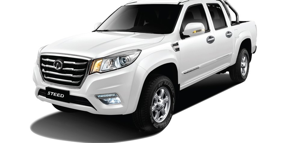 Great Wall announces drive-away pricing for Steed ute