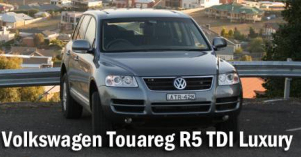 2006 volkswagen touareg r5 tdi luxury road test caradvice. Black Bedroom Furniture Sets. Home Design Ideas