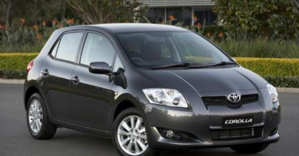 2007 toyota corolla review caradvice. Black Bedroom Furniture Sets. Home Design Ideas