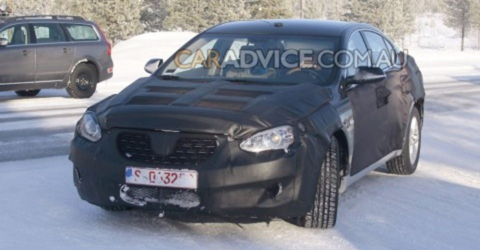 2009 Kia Vg Luxury Sedan Spied Caradvice