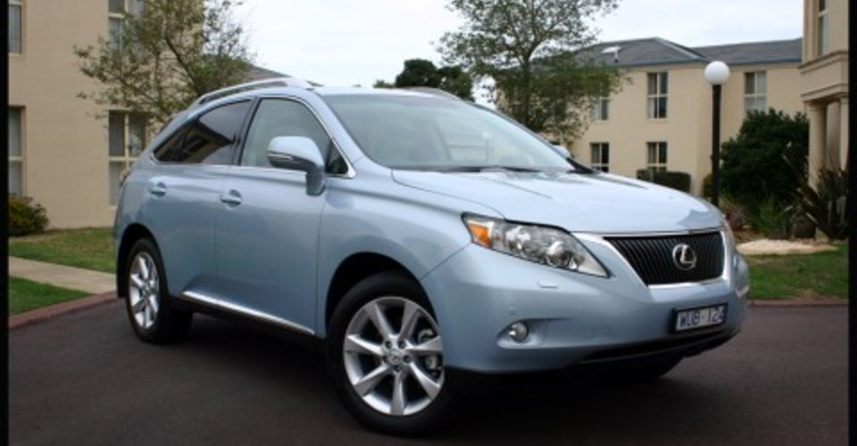 2009 lexus rx350 review