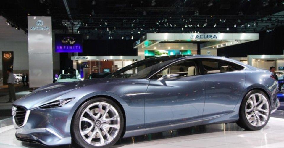 Mazda Shinari Concept At La Auto Show Caradvice