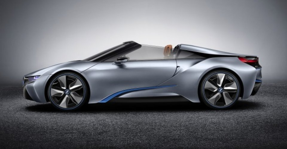 BMW I8 Spyder Nearing Production Concept Bound For CES