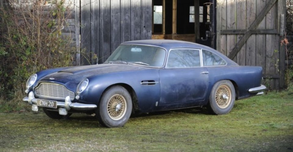 Aston Martin DB Barnfind Lost For Years May Sell For - 1964 aston martin db5 for sale