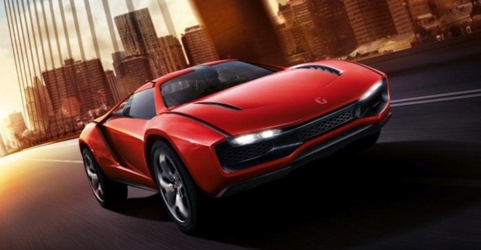 Italdesign Giugiaro Parcour Concept Gallardo Based Supercar