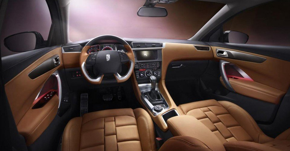 Citroen Ds 6wr First Interior Images Of Chinese Suv Revealed