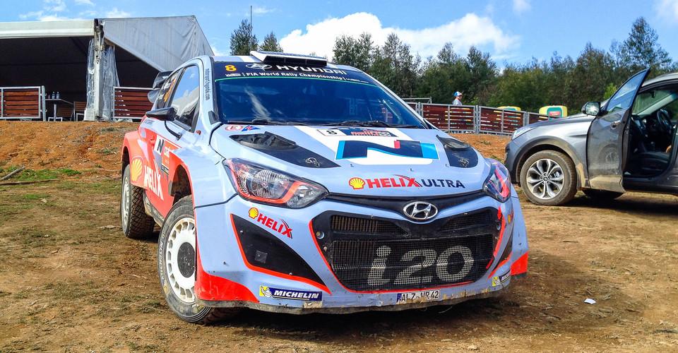 Hyundai I20 Wrc Experience Hot Laps With Chris Atkinson