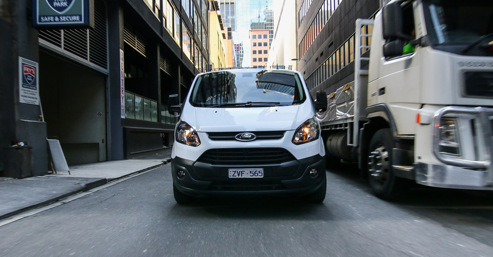 Ford Transit Custom Review :: Recycling weekender