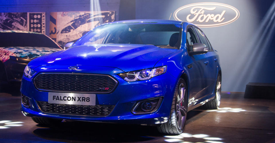 Ford Falcon Xr8 Unveiled In Melbourne Caradvice