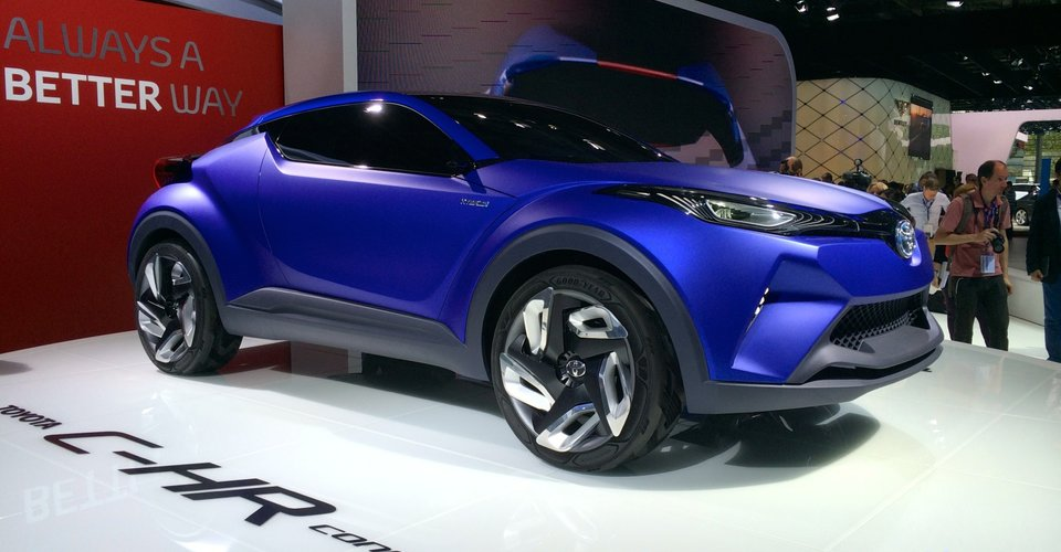 Toyota c hr confirmed to spawn new production compact suv for Garage mitsubishi paris