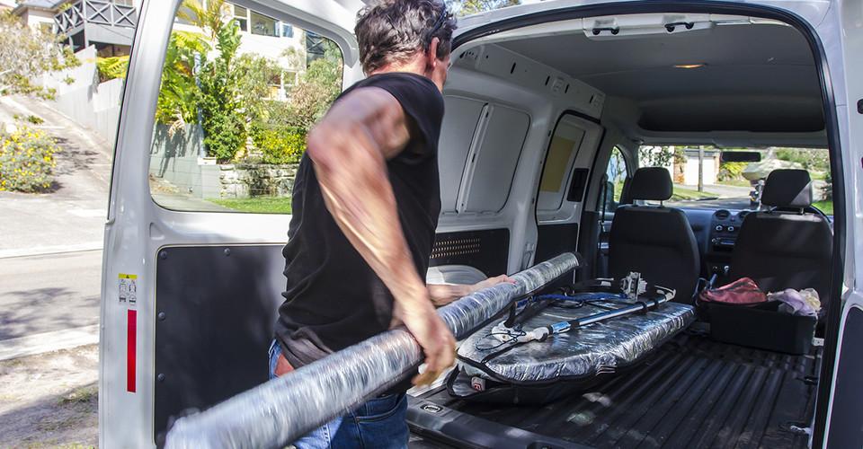 Volkswagen Caddy Maxi Van Review : An action packed weekender