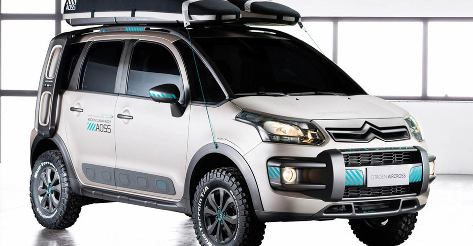 Cars For 500 Down >> Citroen C3 Aircross Lunar concept touches down in Sao ...