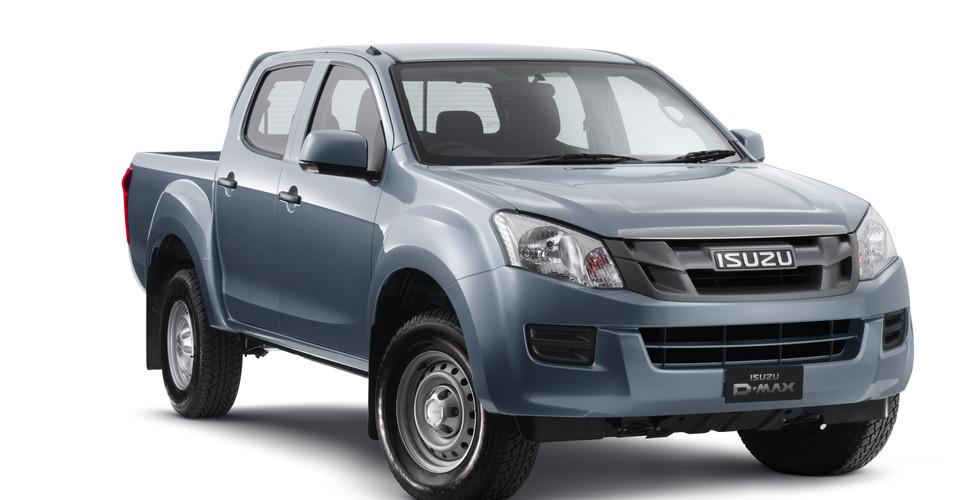 Build A Toyota >> Isuzu D-MAX 4x2 Crew Cabs join five-star ANCAP list