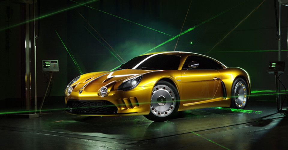 willys aw 380 berlinetta unveiled alpine a108 style body