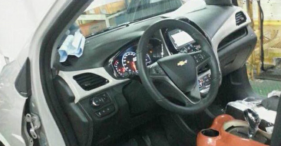 Next Gen Chevrolet Spark Interior Revealed In Photo From Production