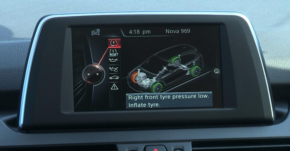 Car Technology : Driving on a flat run flat tyre