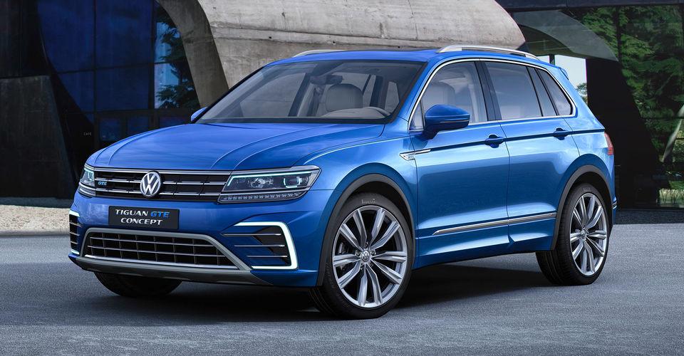 Volkswagen Tiguan GTE Concept unveiled | CarAdvice