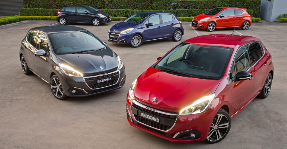 2016 peugeot 208 pricing and specifications more models sharper entry price caradvice. Black Bedroom Furniture Sets. Home Design Ideas
