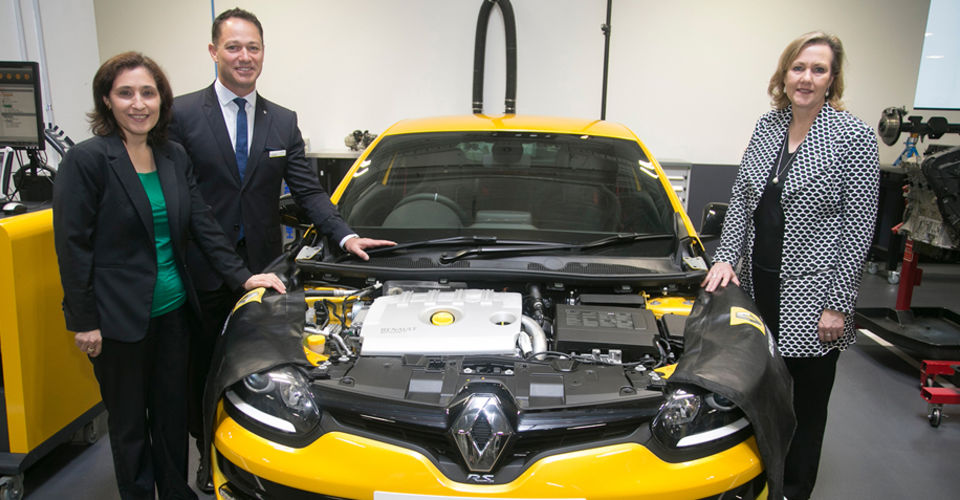Renault Australia expanding HQ, partnering with Kangan on apprentice training