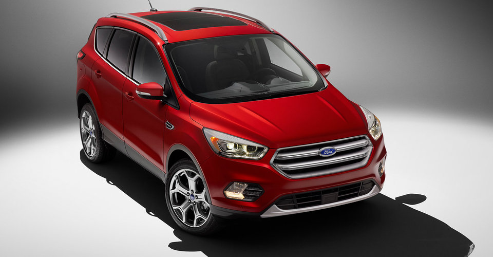 2017 Ford Kuga Revealed As Facelifted Escape New Looks New Sync 3